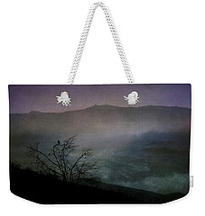Weekender Tote Bag featuring the digital art Lonesome Point by Nicole Wilde