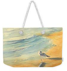 Long Beach Bird Weekender Tote Bag