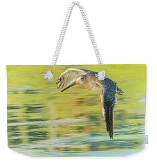 Long-billed Dowitcher 4799-091917-1cr Weekender Tote Bag