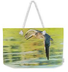 Long-billed Dowitcher 4799-091917-1cr Weekender Tote Bag