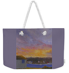 Long Cove Sunrise Weekender Tote Bag