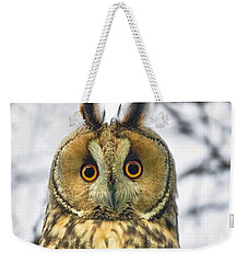 Long Eared Owl 3 Weekender Tote Bag
