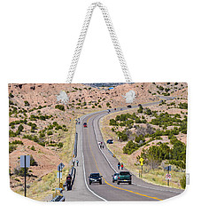 Long Hike Weekender Tote Bag
