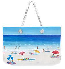 Long Hot Summer Weekender Tote Bag by Jan Matson