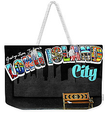 Long Island City Weekender Tote Bag