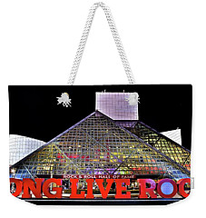 Weekender Tote Bag featuring the photograph Long Live Rock by Frozen in Time Fine Art Photography