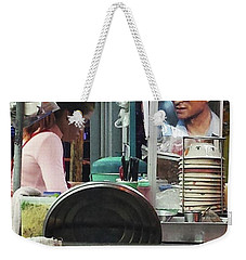 Weekender Tote Bag featuring the photograph Long Live The King. Even After His by Mr Photojimsf