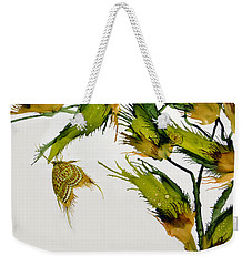 Long Pods And Butterfly Weekender Tote Bag