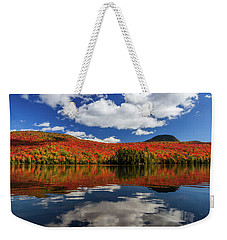 Long Pond And Clouds Weekender Tote Bag