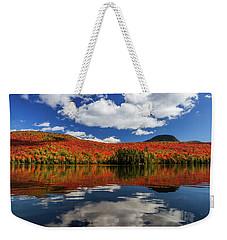 Long Pond And Clouds Weekender Tote Bag