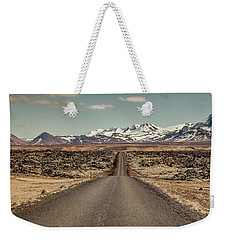 Long Road Ahead Weekender Tote Bag