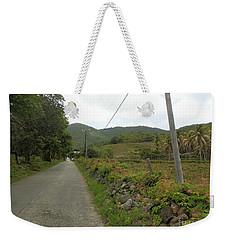 Long Road Into Colombier Weekender Tote Bag