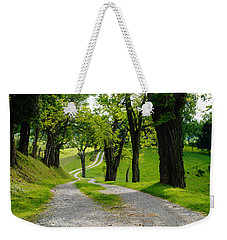 Long Road Weekender Tote Bag by Mike Murdock