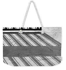 Long Shadow Of Metal Gate Weekender Tote Bag by Prakash Ghai