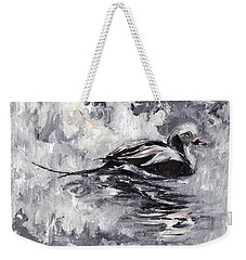 Long-tailed Duck Weekender Tote Bag