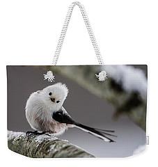 Long-tailed Look Weekender Tote Bag