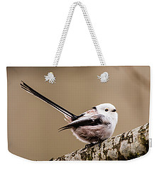 Long-tailed Tit Wag The Tail Weekender Tote Bag by Torbjorn Swenelius
