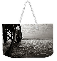 Weekender Tote Bag featuring the photograph Long To Surf by David Sutton