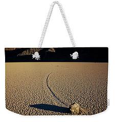 Long Tracks Weekender Tote Bag
