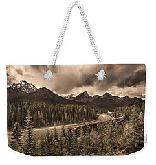 Long Train Running Weekender Tote Bag