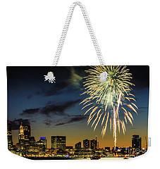 Long Warf Fireworks 1 Weekender Tote Bag
