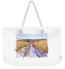 Long Way Artistic  Weekender Tote Bag