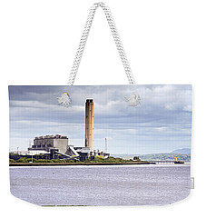 Weekender Tote Bag featuring the photograph Longannet Power Station by Jeremy Lavender Photography