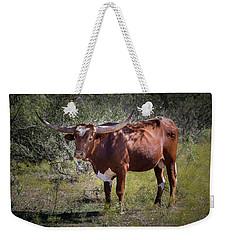 Longhorn #95 - Color Weekender Tote Bag