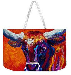 Longhorn Steer Weekender Tote Bag