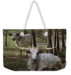 Longhorns On The Watch Weekender Tote Bag