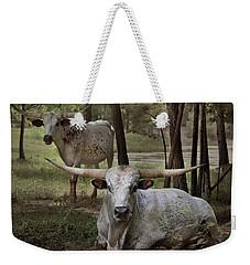 Longhorns On The Watch Weekender Tote Bag