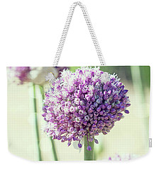 Weekender Tote Bag featuring the photograph Longing For Summer Days by Linda Lees