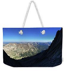 Longs Peak Trough Weekender Tote Bag