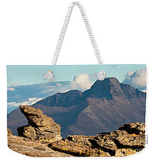 Long's Peak View Weekender Tote Bag