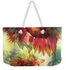 Look On The Sunny Side Weekender Tote Bag