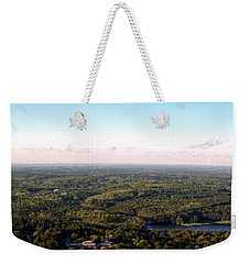 Weekender Tote Bag featuring the photograph Look Out Mountain by Debra Forand