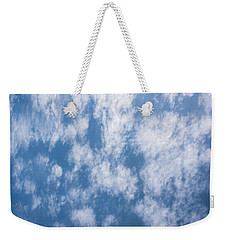 Look Up Not Down Clouds Weekender Tote Bag by Terry DeLuco