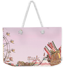 Weekender Tote Bag featuring the photograph Look Up To See The Music by Cindy Garber Iverson