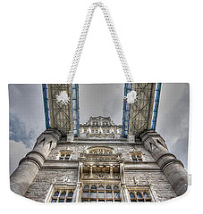 Look Up To The Tower Weekender Tote Bag