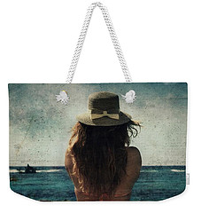 Looking At The Horizon Weekender Tote Bag