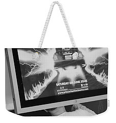 Looking Back Weekender Tote Bag