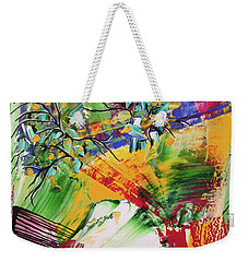 Looking Beyound The Present Weekender Tote Bag by Sima Amid Wewetzer