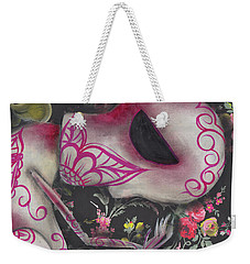 Looking Down Weekender Tote Bag by Abril Andrade Griffith