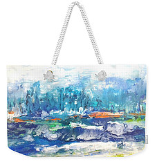 Looking For A Place To Land Weekender Tote Bag