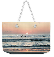 Looking For Breakfest Weekender Tote Bag