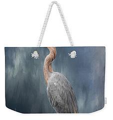 Weekender Tote Bag featuring the photograph Looking For Food by Kim Hojnacki