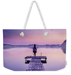 Weekender Tote Bag featuring the photograph Looking For The Sirens by Dmytro Korol
