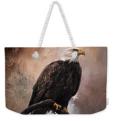 Looking Forward - Eagle Art Weekender Tote Bag by Jordan Blackstone