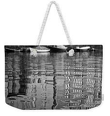 Looking In The Water Weekender Tote Bag