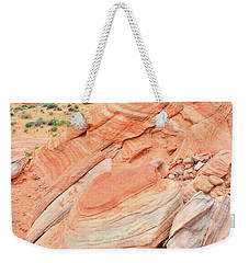 Weekender Tote Bag featuring the photograph Looking South In Valley Of Fire by Ray Mathis